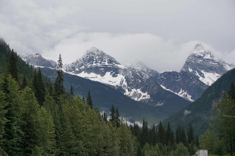 Die Rocky Mountains Voraus